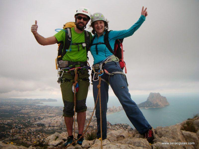 escalada Toix Integral Calpe 10 SERAC COMPAÑÍA DE GUÍAS
