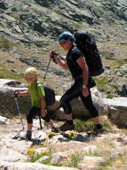 Curso Montaña con niños SERAC COMPAÑÍA DE GUÍAS