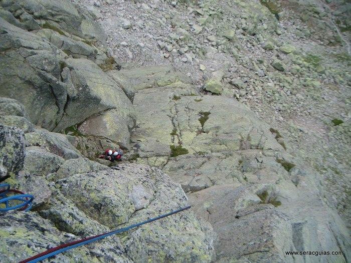 escalada Morezon Circo de Gredos 3 SERAC COMPAÑÍA DE GUÍAS