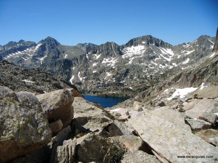 Cresta Amitges Saboredo Sageta Aiguestortes Pirineo 1 SERAC COMPAÑÍA DE GUÍAS