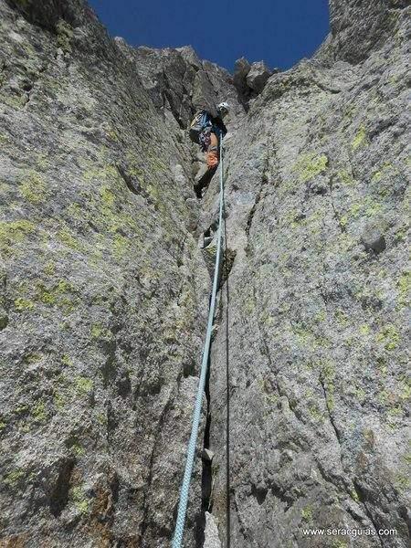 Cresta Besiberri Pirineo 4 SERAC COMPAÑÍA DE GUÍAS