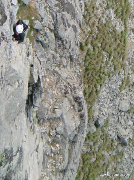 escalada Villarejo Gredos 3 SERAC COMPAÑÍA DE GUÍAS