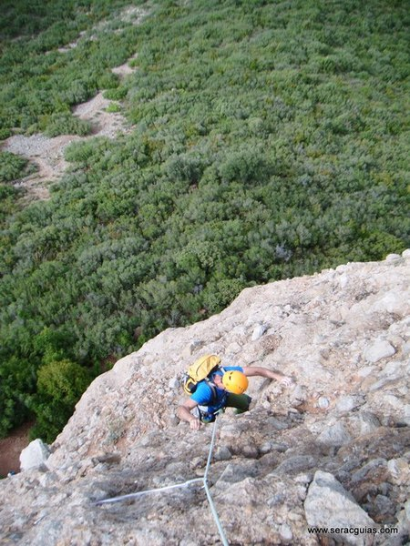 escalada Mallo Colorao Riglos 2 SERAC COMPAÑÍA DE GUÍAS