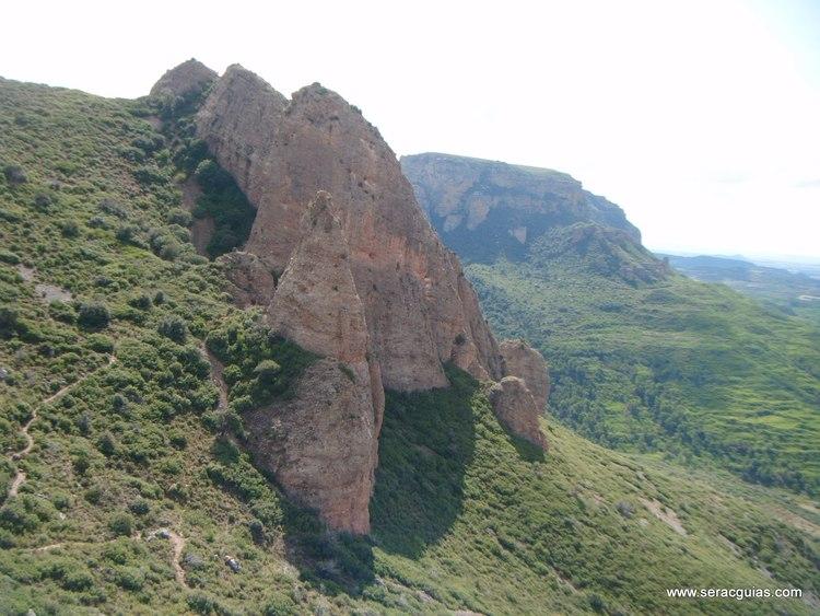 escalada Mallo Colorao Riglos 3 SERAC COMPAÑÍA DE GUÍAS