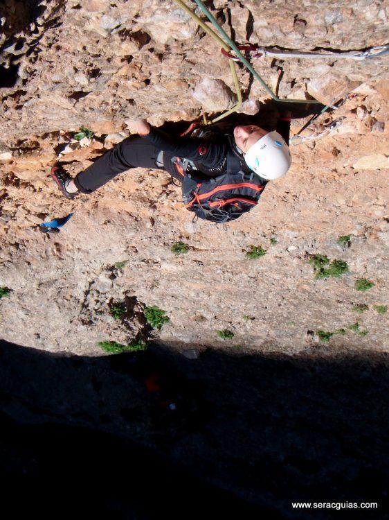 escalada Galletas Fire Riglos 1 SERAC COMPAÑÍA DE GUÍAS