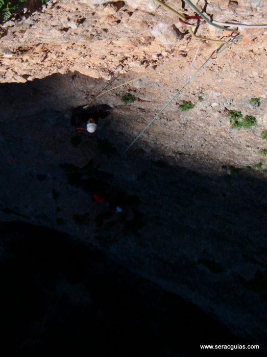 escalada Galletas Fire Riglos 2 SERAC COMPAÑÍA DE GUÍAS