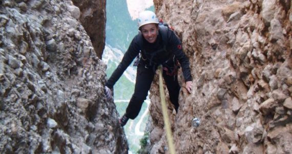 escalada Galletas Fire Riglos 5 SERAC COMPAÑÍA DE GUÍAS