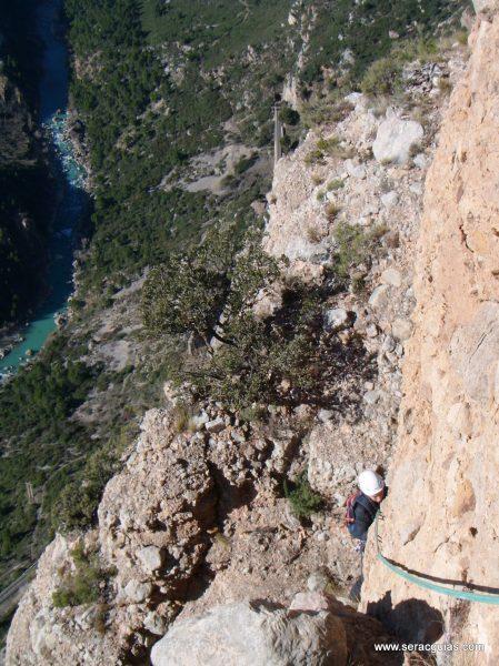 escalada Galletas Fire Riglos 6 SERAC COMPAÑÍA DE GUÍAS