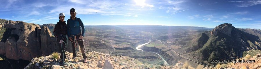 escalada Galletas Fire Riglos 9 SERAC COMPAÑÍA DE GUÍAS