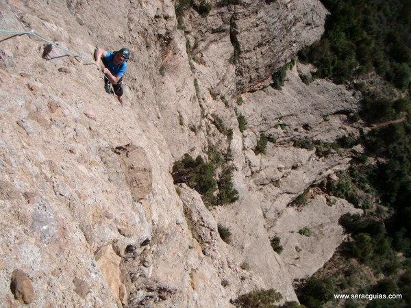 escalada Sendero Limite Rueba 4 SERAC COMPAÑÍA DE GUÍAS