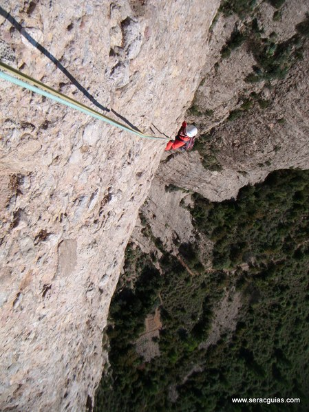 escalada Sendero Limite Rueba 5 SERAC COMPAÑÍA DE GUÍAS