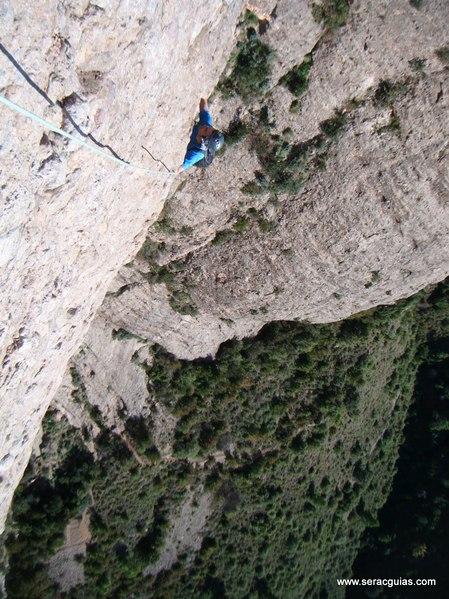 escalada Sendero Limite Rueba 6 SERAC COMPAÑÍA DE GUÍAS