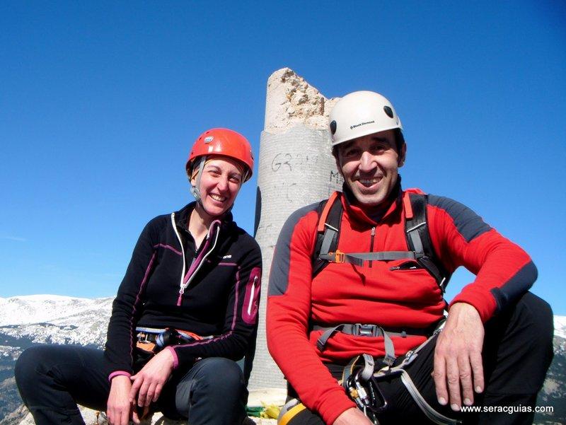 escalada Walkiria Yelmo Pedriza 7 SERAC COMPAÑÍA DE GUÍAS