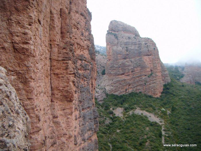 escalada Frechin Riglos 2 SERAC COMPAÑÍA DE GUÍAS
