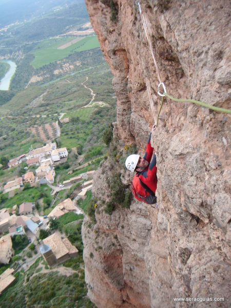 escalada Frechin Riglos 3 SERAC COMPAÑÍA DE GUÍAS