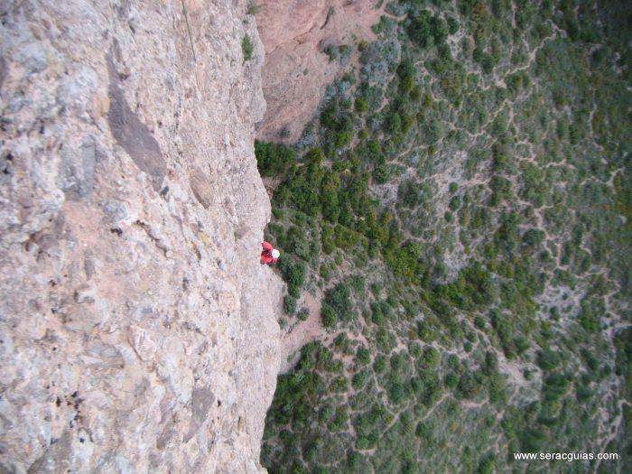 escalada Frechin Riglos 4 SERAC COMPAÑÍA DE GUÍAS