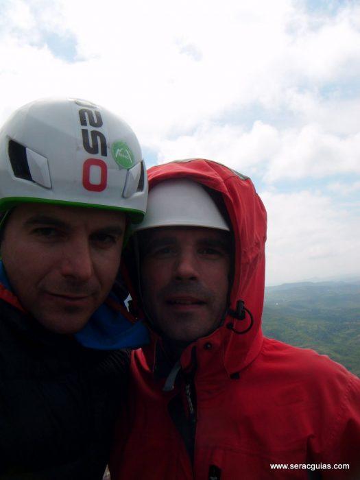 escalada Frechin Riglos 7 SERAC COMPAÑÍA DE GUÍAS