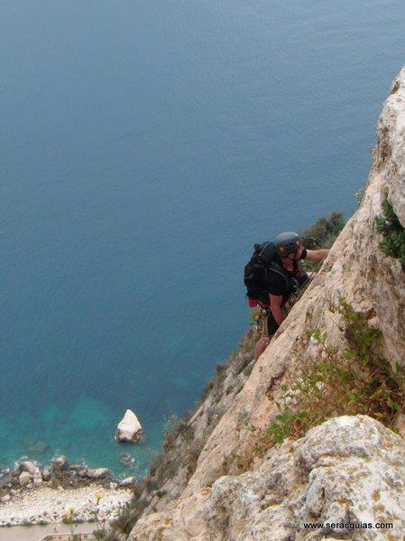 escalada Peñon Ifach 4 SERAC COMPAÑÍA DE GUÍAS