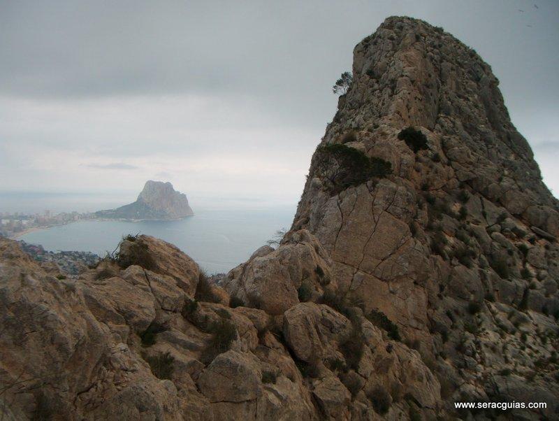 escalada Peñon Ifach 8 SERAC COMPAÑÍA DE GUÍAS