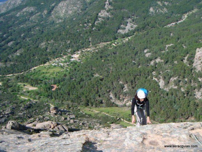 escaladas clasicas pedriza guadarrama 5 SERAC COMPAÑÍA DE GUÍAS