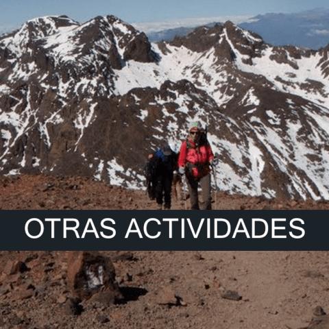 Otras actividades SERAC COMPAÑÍA DE GUÍAS