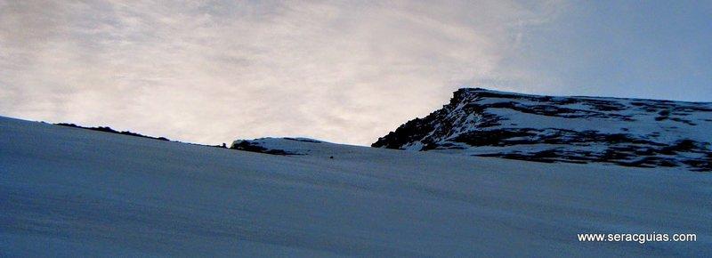 Cara Norte Mulhacen Sierra Nevada 1 SERAC COMPAÑÍA DE GUÍAS