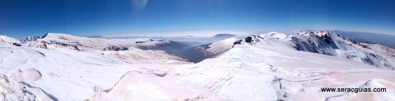 panoramica sierra nevada veleta SERAC COMPAÑÍA DE GUÍAS