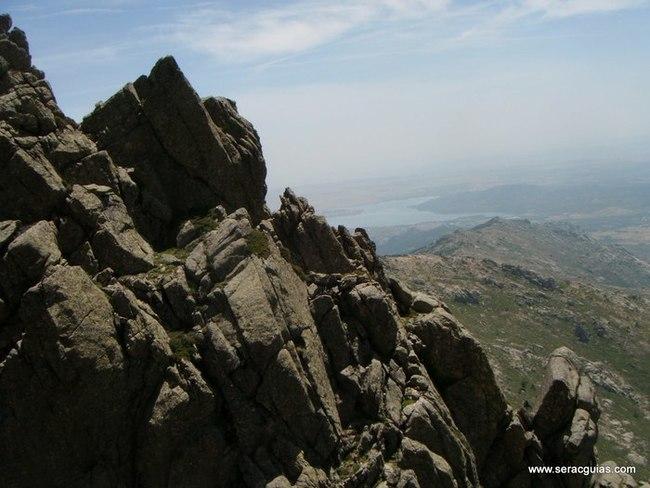 escalada 1 Alta Ruta Maliciosa Guadarrama Madrid SERAC COMPAÑÍA DE GUÍAS