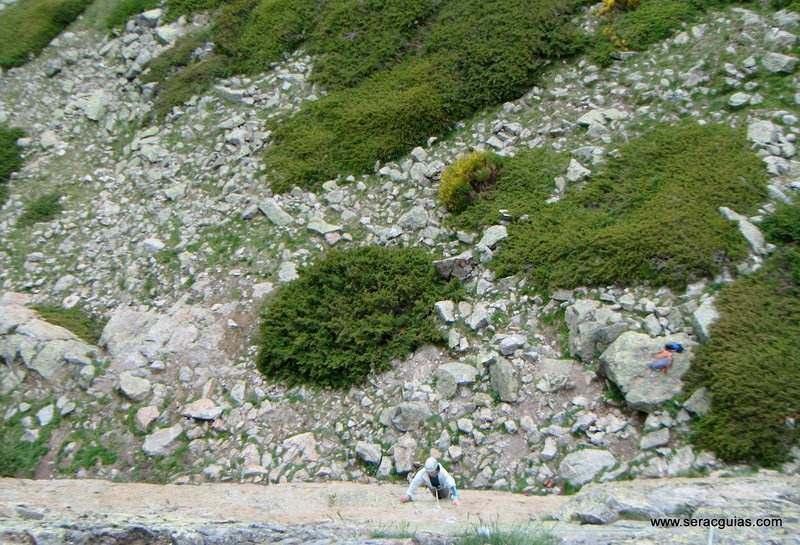 escalada 3 Peñalara Sierra de Guadarrama Madrid SERAC COMPAÑÍA DE GUÍAS
