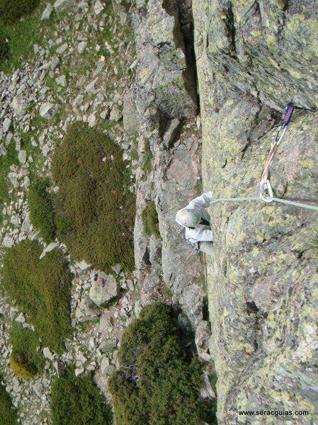 escalada 4 Peñalara Sierra de Guadarrama Madrid SERAC COMPAÑÍA DE GUÍAS