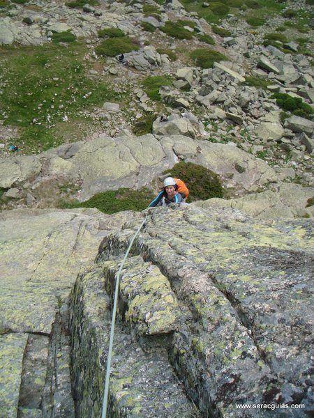 escalada 6 Peñalara Sierra de Guadarrama Madrid SERAC COMPAÑÍA DE GUÍAS