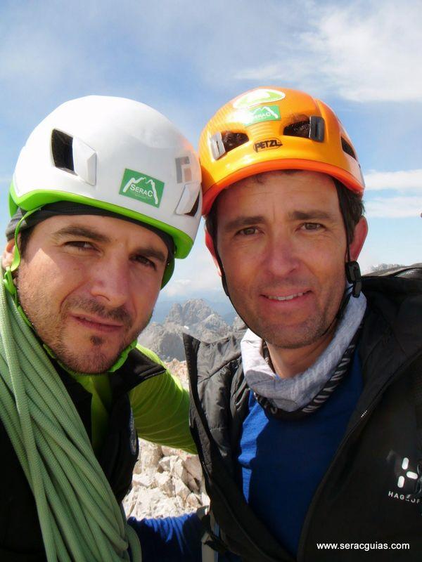 Espolon Franceses cumbre 3 Picos de Europa SERAC COMPAÑÍA DE GUÍAS