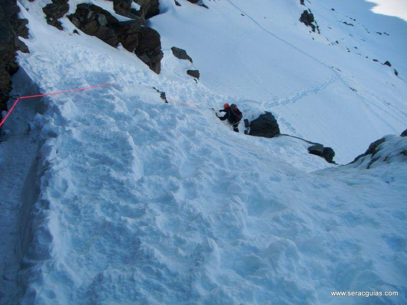 curso alpinismo 15 SERAC COMPAÑÍA DE GUÍAS
