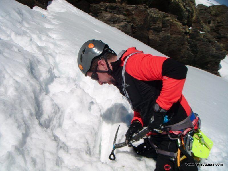 curso alpinismo 2 SERAC COMPAÑÍA DE GUÍAS