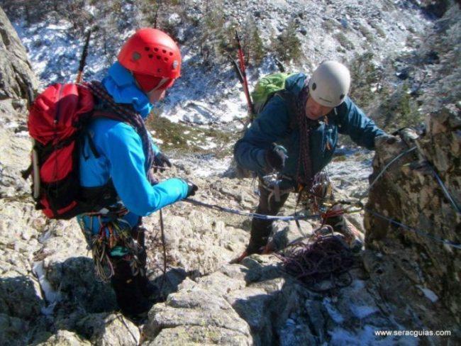 curso alpinismo 23 SERAC COMPAÑÍA DE GUÍAS