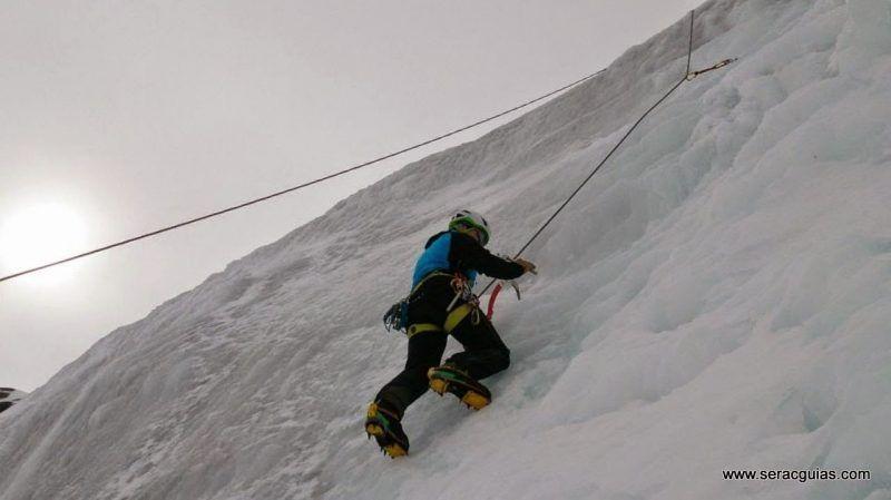 curso alpinismo 32 SERAC COMPAÑÍA DE GUÍAS