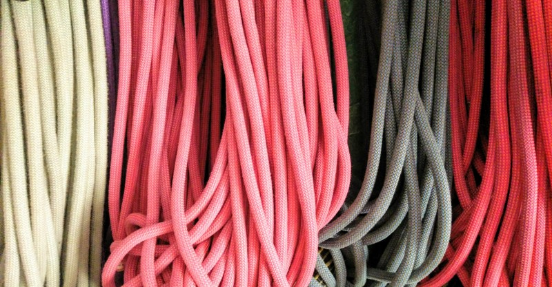 como elegir utilizar cuerda escalada alpinismo SERAC COMPAÑÍA DE GUÍAS