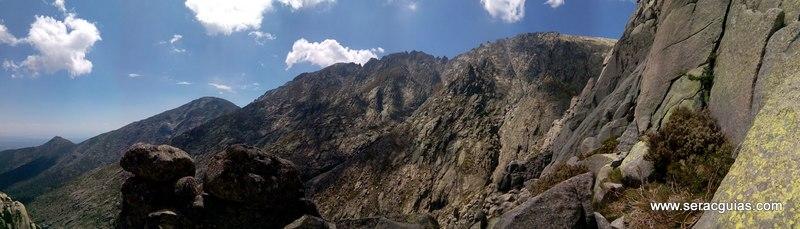 escalada Gilette Berroqueras Galayos Gredos 7 SERAC COMPAÑÍA DE GUÍAS