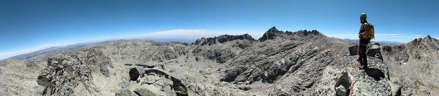 Cresta Cerro Huertos Gredos 4 SERAC COMPAÑÍA DE GUÍAS