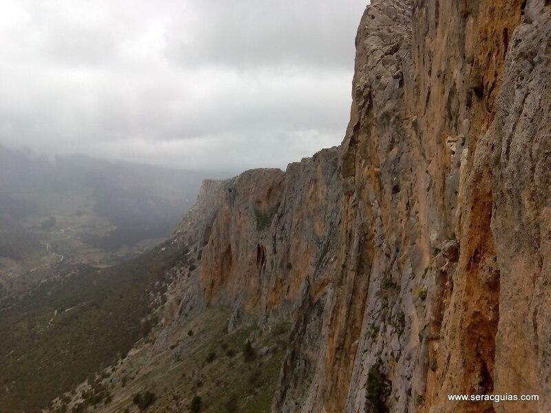 pared alcandoras jaen SERAC COMPAÑÍA DE GUÍAS