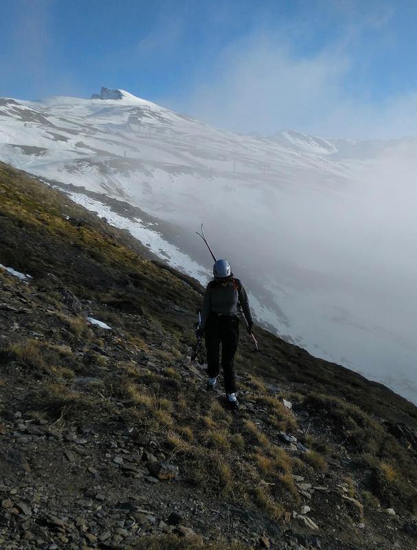 Sierra Nevada Andalucia esqui alpisnimo SERAC COMPAÑÍA DE GUÍAS