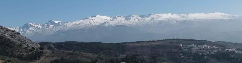 Sierra Nevada Andalucia panorámica SERAC COMPAÑÍA DE GUÍAS