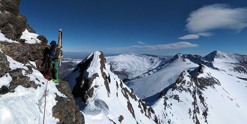 Veleta Sierra Nevada Andalucia esqui alpisnimo SERAC COMPAÑÍA DE GUÍAS