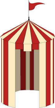 Tent graphic