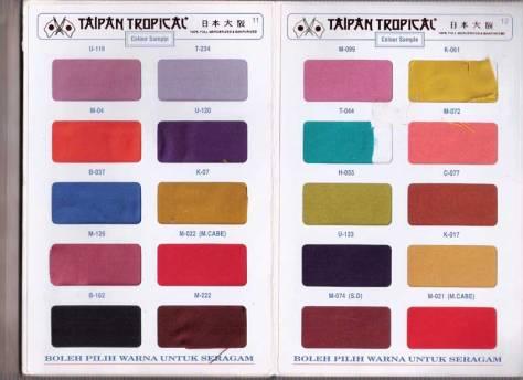 Hasil gambar untuk bahan taipan tropical