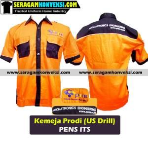 bikin seragam kemeja kantor, perusahaan, organisasi murah kirim ke Bintuni