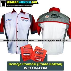 bikin seragam kemeja kantor, perusahaan, organisasi murah kirim ke Luwuk