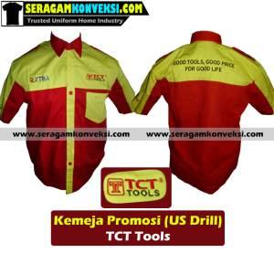 pesan grosir seragam kerja desain sendiri (custom) murah kirim ke Suwawa