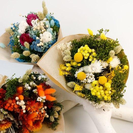 Ramillete de flores secas