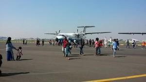 Sambut-HUT-ke-70-RI,-Open-House-PT-Dirgantara-Indonesia-Pamerkan-Pesawat-Buatan-BJ-Habibi